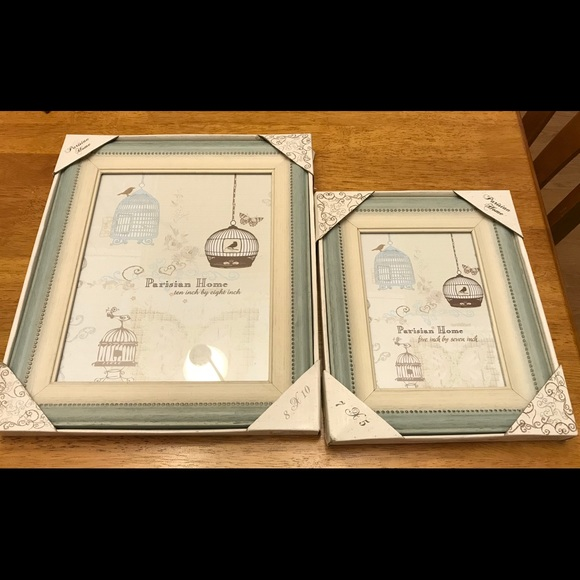 Parisian Home Other S Picture Frames Set Of 2 Poshmark